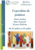 Exposition de Peinture - Atelier d\'Artistes