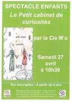 Spectacle enfant - Le petit cabinet des curiosités