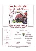 Les Musicales de Mesnil Glaise