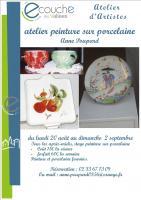 Atelier peinture sur porcelaine - Atelier d\'Artistes