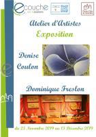 Exposition - Atelier Peinture
