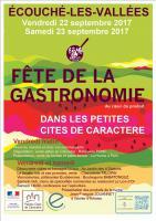 Fête de la Gastronomie 2017