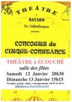 Théâtre - Concours de Cirque-Constance