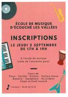 Ecole de Musique d'Écouché-les-Vallées