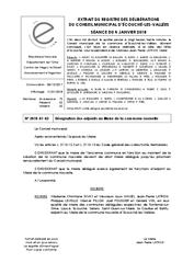Télécharger le document Désignation des adjoints au maire de la commune nouvelle