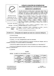 Télécharger le document Désignation des Adjoints aux maires des communes déléguées