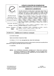 Télécharger le document Institution de la conférence municipale