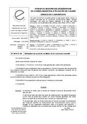Télécharger le document Délégation de pouvoirs au Maire de la commune nouvelle