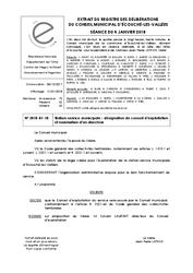Télécharger le document Station-Service Municipale : Désignation du Conseil d'Exploitation et nomination d'un directeur