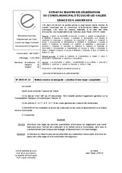 Télécharger le document Station-Service Municipale : Création d'une régie comptable