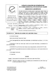 Télécharger le document Réfection du mobilier de la salle Notre-Temps