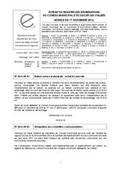 Télécharger le document Procès-Verbal CM du 17 Novembre 2016