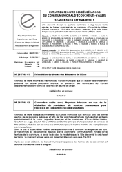 Télécharger le document Procès-Verbal CM du 14 Septembre 2017