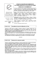 Télécharger le document Procès-Verbal CM du 9 Novembre 2017