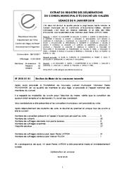 Télécharger le document Procès-Verbal CM du 4 Janvier 2018