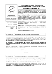 Télécharger le document Procès-Verbal CM du 13 Septembre 2018