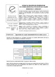 Télécharger le document Procès-Verbal du 11 Avril 2019