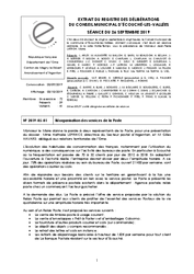 Télécharger le document Procès-Verbal du 26 Septembre 2019
