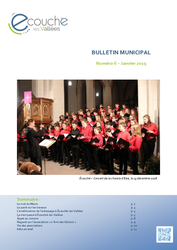 Télécharger le document Bulletin Municipal d'Écouché-les-Vallées - numéro 6 -  Janvier 2019