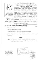 Télécharger le document Institution de la conférence municipale