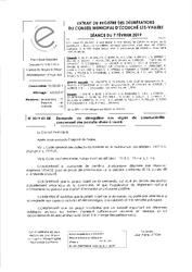 Télécharger le document 2019-01-05 Demande de dérogation aux règles de constructibilité concernant une parcelle située à Loucé