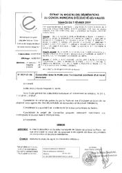Télécharger le document 2019-01-06 Convention avec La Poste pour l'occupation provisoire d'un local municipal