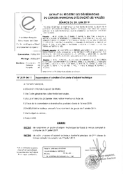 Télécharger le document 2019-04-11 Suppression et création d'un poste d'adjoint technique