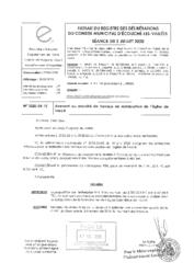 Télécharger le document 2020-04-15 Avenant au marché de travaux de restauration de l'église de Loucé