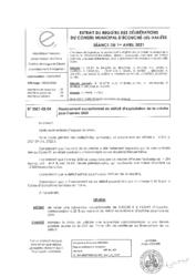 Télécharger le document 2021-02-04 Financement exceptionnel du déficit d'exploitation de la crèche pour l'année 2020