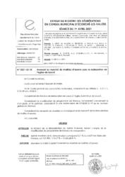 Télécharger le document 2021-02-15 Avenant au marché de maîtrise d'oeuvre pour la restauration de l'église de Loucé
