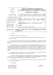 Télécharger le document 2021-03-03 Création de postes dans le cadre du dispositif parcours emploi compétences