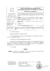 Télécharger le document 2021-04-03 Lotissement communal - Adoption du règlement d'attribution des lots