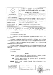 Télécharger le document 2021-05-10 Participation de l'association des Amis de l'église Notre-Dame d'Écouché aux travaux de restauration du mobilier